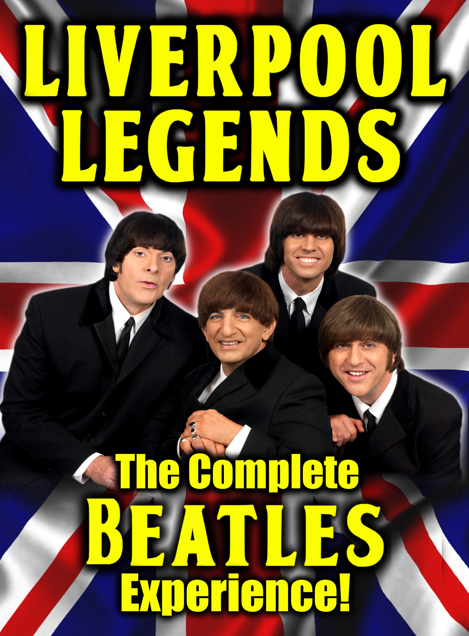 LIVERPOOL LEGENDS BEATLES TRIBUTE BAND IN NEW NATIONAL TV COMMERCIAL